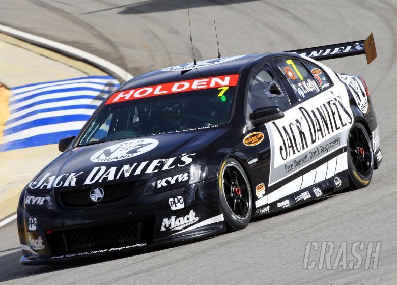 Todd Kelly, (Aust) Jack Daniels Perkins CommodoreBigpond 400 rd 4 V8 SupercarsBarbagallo RacewayPert