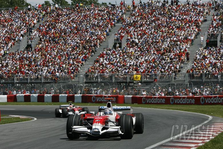 Jarno Trulli (ITA) Toyota TF108, Canadian F1 Grand Prix, Montreal, 6th-8th, June, 2008