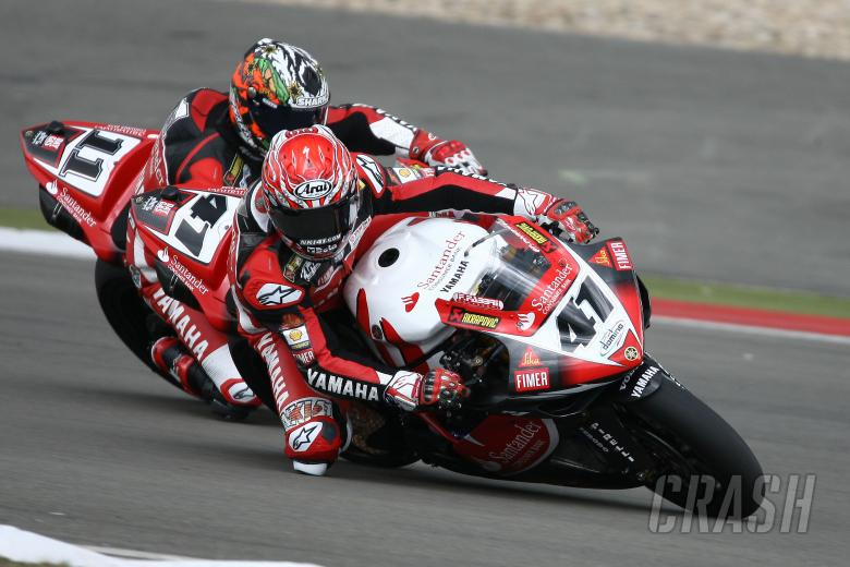 Haga, Corser, Germany WSBK Race 2 2008