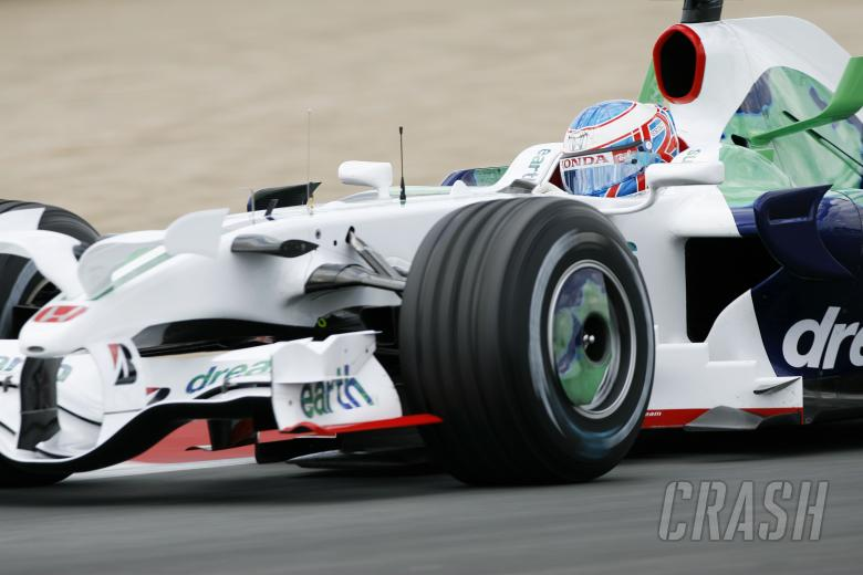, - Jenson Button (GBR) Honda RA108, French F1 Grand Prix, Magny Cours, France, 20th-22nd, June, 2008