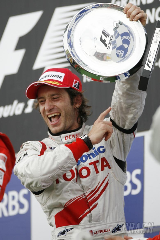 Jarno Trulli (ITA) Toyota TF108, French F1 Grand Prix, Magny Cours, France, 20th-22nd, June, 2008