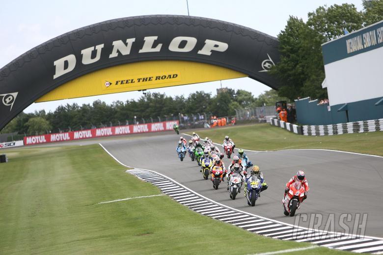 Stoner, Race Start, British MotoGP Race 2008