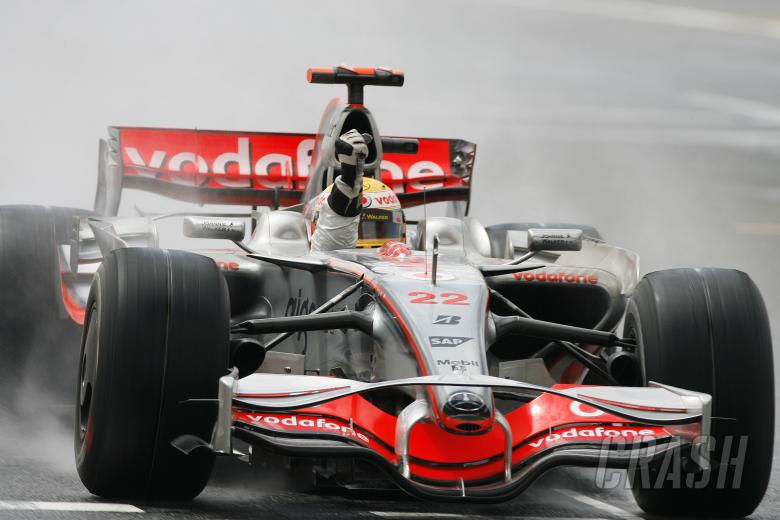Lewis Hamilton (GBR) McLaren MP4-23, British F1, Silverstone, 4-6th, July, 2008