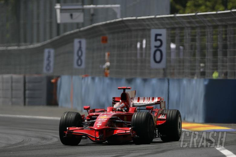 , - Kimi Raikkonen (FIN) Ferrari F2008, Valencia F1 Grand Prix, 22nd-24th, August 2008
