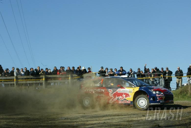 , - Sebastian Loeb (F) Daniel Elena (MC) Citroen C4 WRC