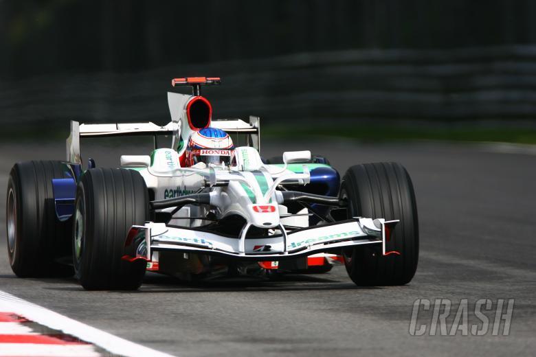 Jenson Button (GBR) Honda RA108, Italian F1 Grand Prix, Monza, 12th-14th, September, 2008