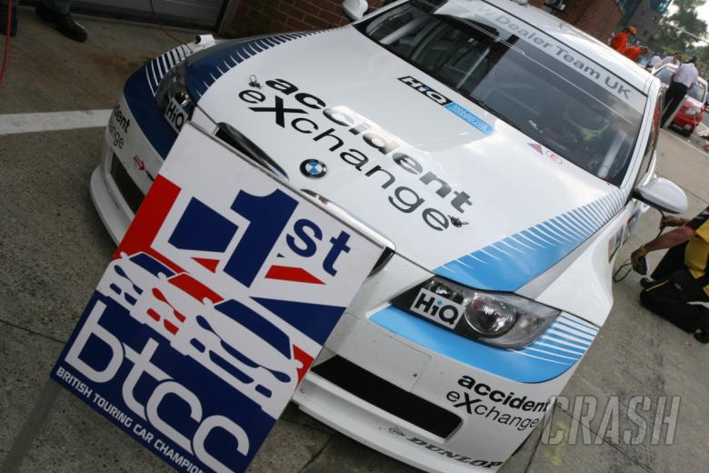 Accident Exchange pulls out of BTCC  | BTCC | News | Crash