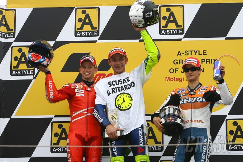 , - Stoner, Rossi Pedrosa, Japanese MotoGP 2008