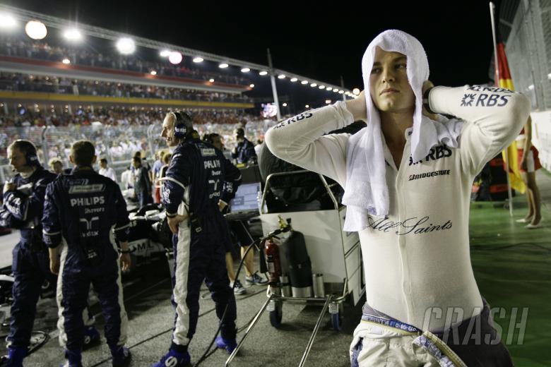 Nico Rosberg (GER) Williams FW30, Singapore F1 Grand Prix, 26th-28th, September 2008