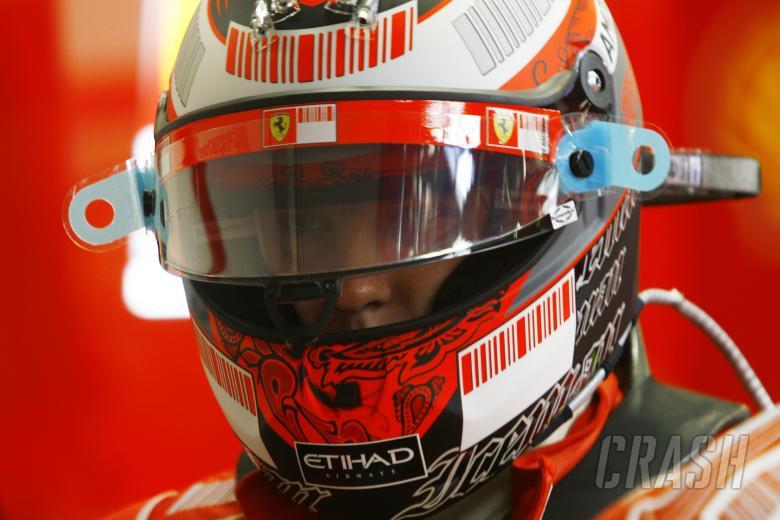 Kimi Raikkonen (FIN) Ferrari F2008, Singapore F1 Grand Prix, 26th-28th, September 2008