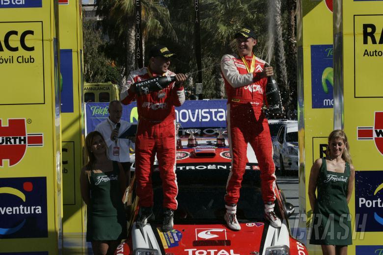 Martin Prokop (CZ) Jan Tomanek (CZ) Citroen C2 S1600; Junior WRC winner