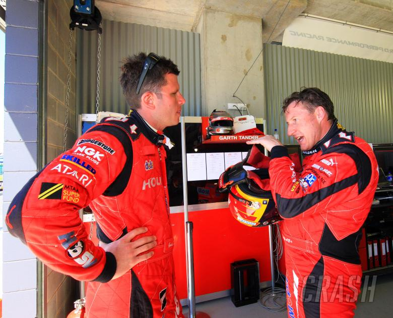 Garth Tander, Mark Skaife, (aust) Toll HRT Commodore Supercheap Bathurst 1000 Rd 10 v8 Super