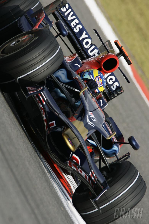 Sebastien Bourdais (FRA), Toro Rosso STRO3, Chinese F1 Grand Prix, Shanghai, 17th-19th October 2008