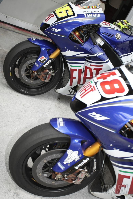 , - Fiat Yamaha Tyres, Bridgestone, Michelin, Malaysian MotoGP 2008