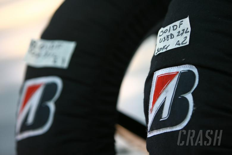 Bridgestone Tyre warmers, Valencia MotoGP Test 2008