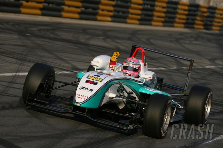 , - Keisuke Kunimoto, Tom's Team Dallara Toyota