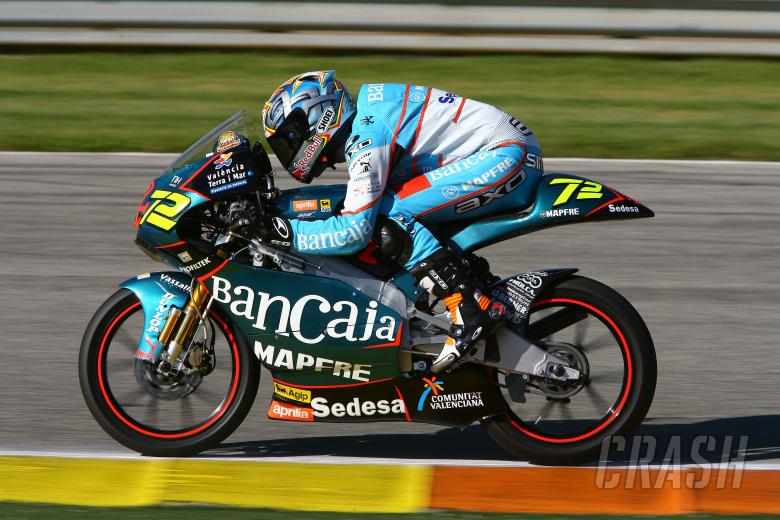 Simon, Valencia 125GP Test 2008
