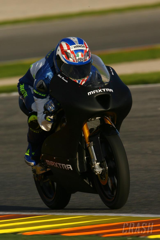 Ranseder, Valencia 125GP Test 2008