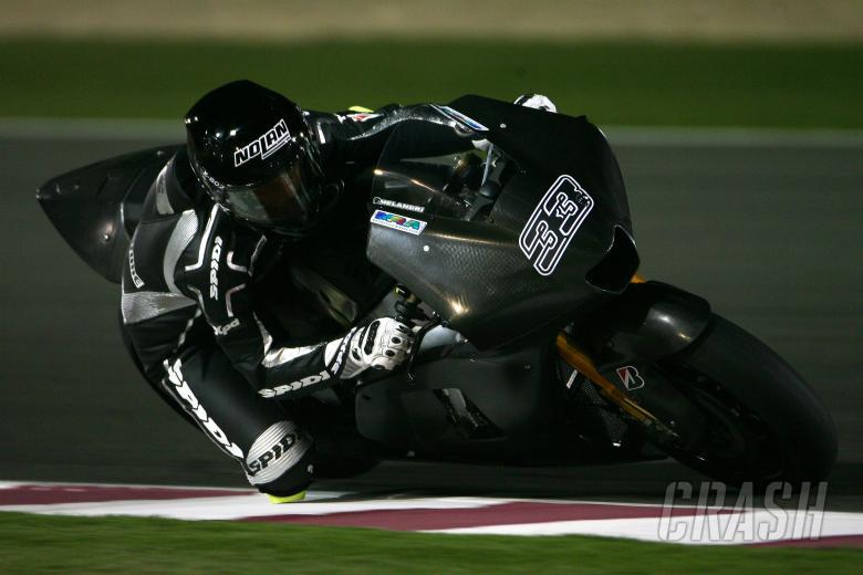 Melandri, Qatar MotoGP Test 2009