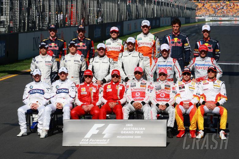 , - Drivers photo pre raceING Australian Formula 1 Grand PrixRd 1 World F1 ChampionshipAlbert