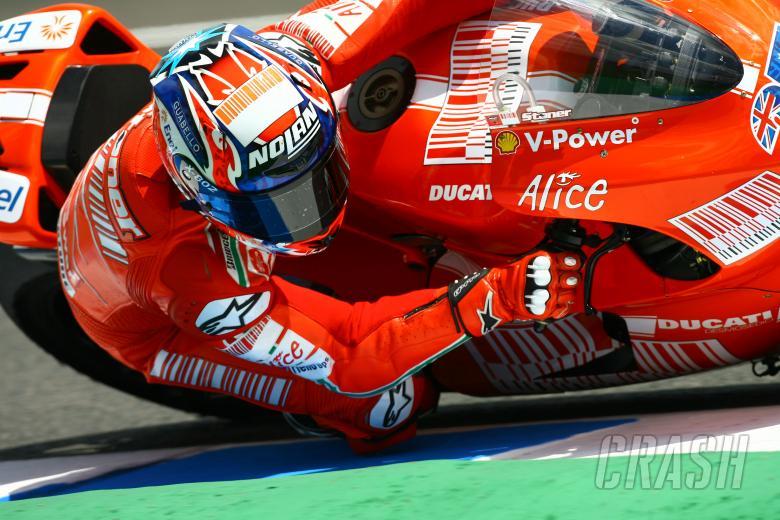 Motogp Casey Stoner Carbon Frame Ducati Best Motogp Bike In 2009
