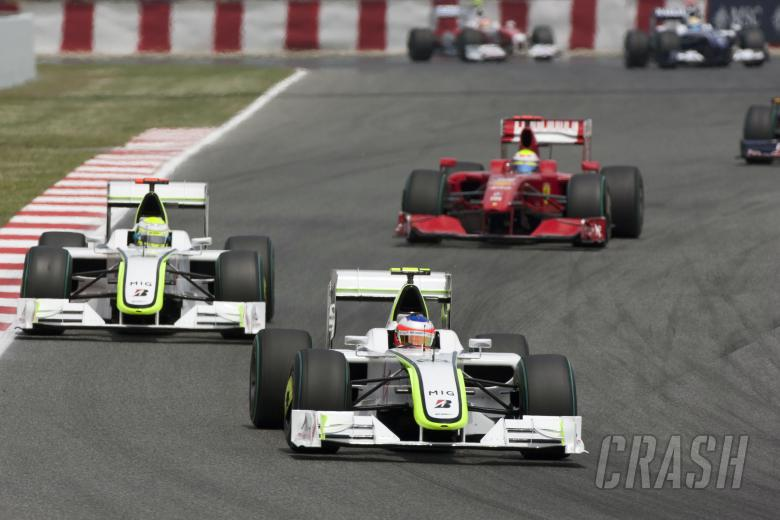 , - Rubens Barrichello (BRA) Brawn BGP001, Spanish F1 Grand Prix, Catalunya, 8th-10th, May, 2009