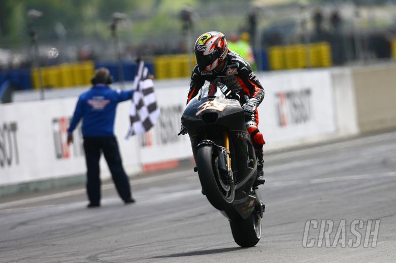 , - Melandri, French MotoGP 2009