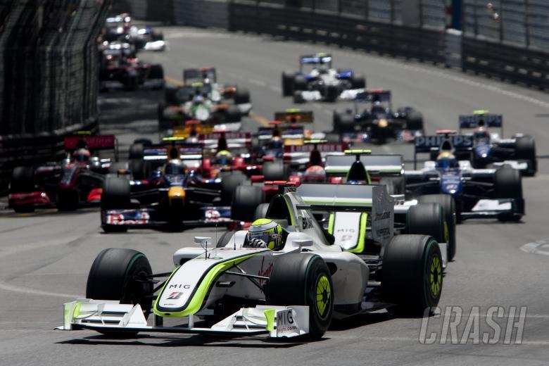 Start, Monaco F1 Grand Prix, 21st-24th, May 2009