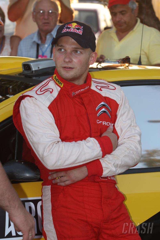 Evgeny Novikov (RUS), Citroen C4 WRC, Citroen Junior Team