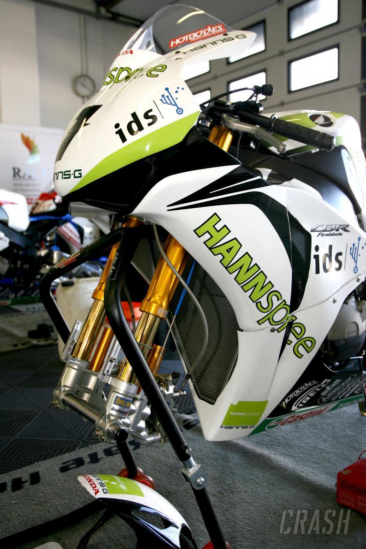 Ten Kate Honda using Ohlins Suspension, San Marino WSBK 2009