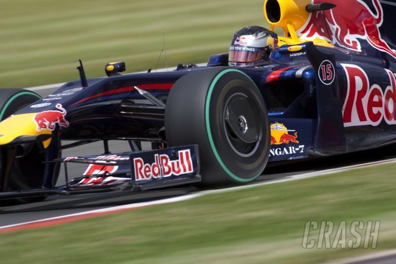 , - Sebastian Vettel (GER) Red Bull RB5, British F1, Silverstone, 19th-21st, June, 2009