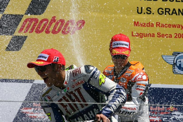 Pedrosa and Rossi, U.S. MotoGP 2009