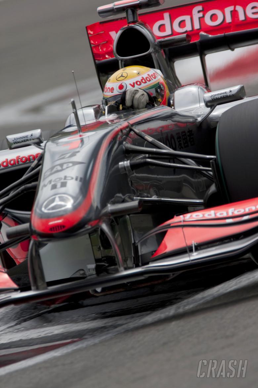 , - Lewis Hamilton (GBR) McLaren MP4-24, German F1 Grand Prix, Nurburgring, 10-12th, July 2009
