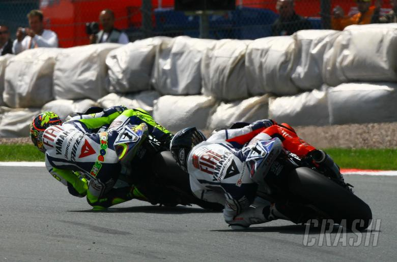 Rossi and Lorenzo, German MotoGP 2009
