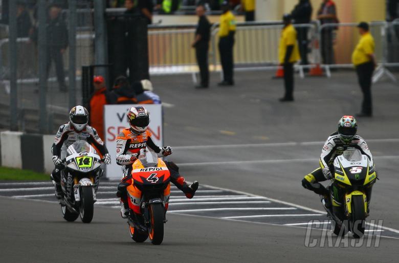 Dovizioso, British MotoGP 2009