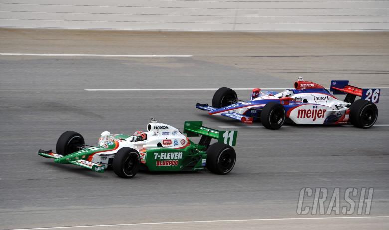 Indy Racing League. July 31-Aug. !, 2009.Kentucky Speedway. Sparta, Ky. USA. Tony Kanaan and Marco