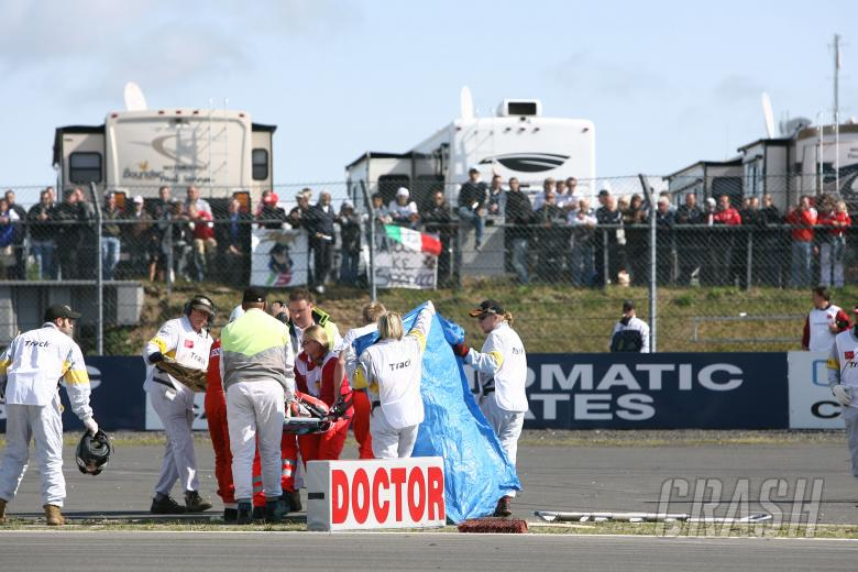 , - Hopkins, German WSBK Race 1 2009