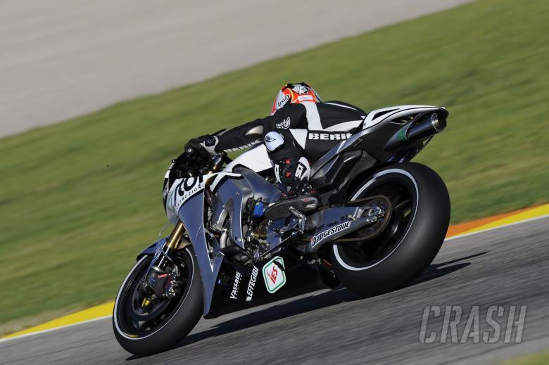 Aoyama, Valencia MotoGP Test 2009