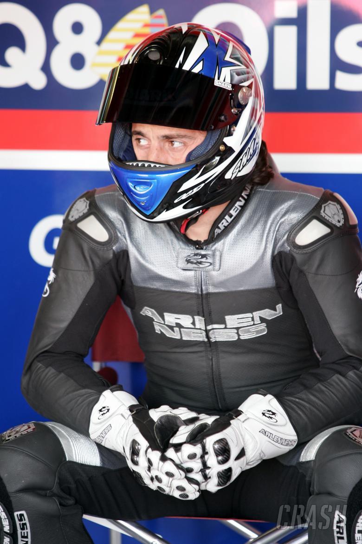 British Superbike Championship. Brands Hatch, Kent. Gregorio Lavilla, Airwaves Ducati