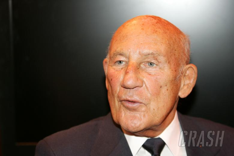 Sir Stirling Moss at the British Women Racing Drivers Club Awards