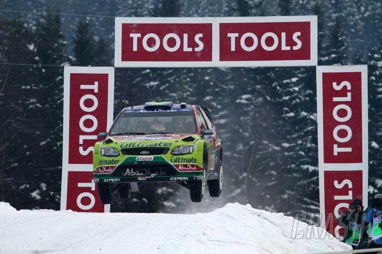 Jari-Matti Latvala (FIN) Miikka Anttila (FIN), Ford Focus RS WRC08, BP Ford Abu Dhabi World Rally Te