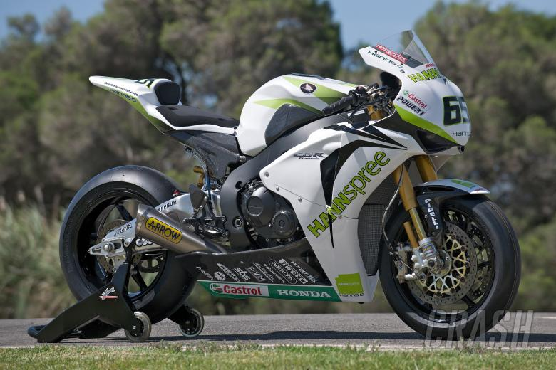 Rea, Honda CBR 1000, Australian WSBK Test 2010