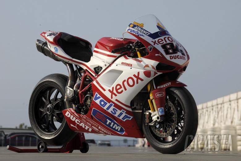 Fabrizio, Ducati 1198R, Australian WSBK Test 2010