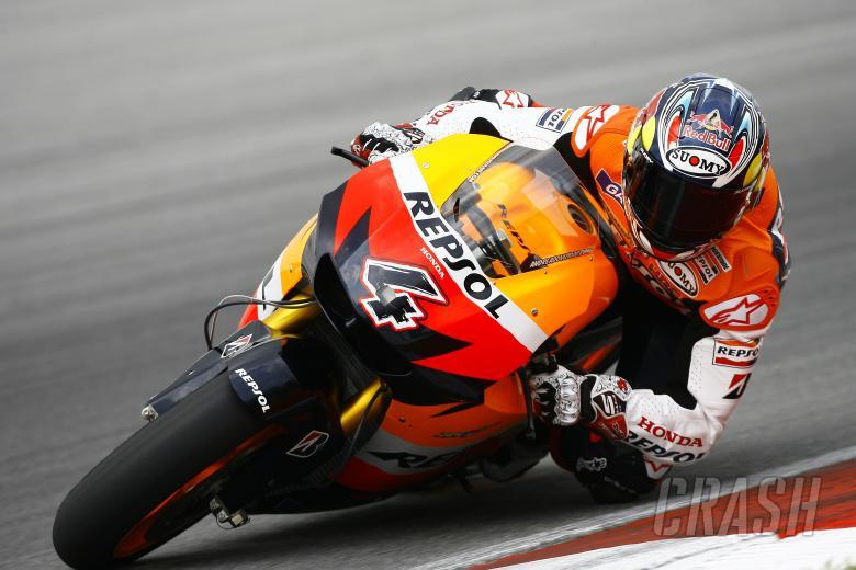 , - Dovizioso, Sepang MotoGP tests, 25-26th February 2010
