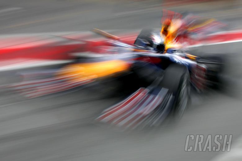 27.02.2010 Barcelona, Spain, Sebastian Vettel (GER), Red Bull Racing - Formula 1 Testing, Barcelona