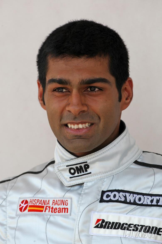 Karun Chandhok (IND) HRT Cosworth