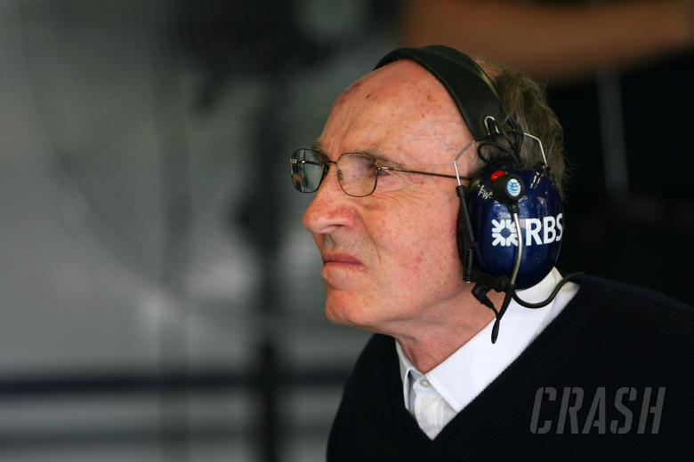 , - Saturday Practice, Sir Frank Williams(gbr),Team Principal Williams F1 Team