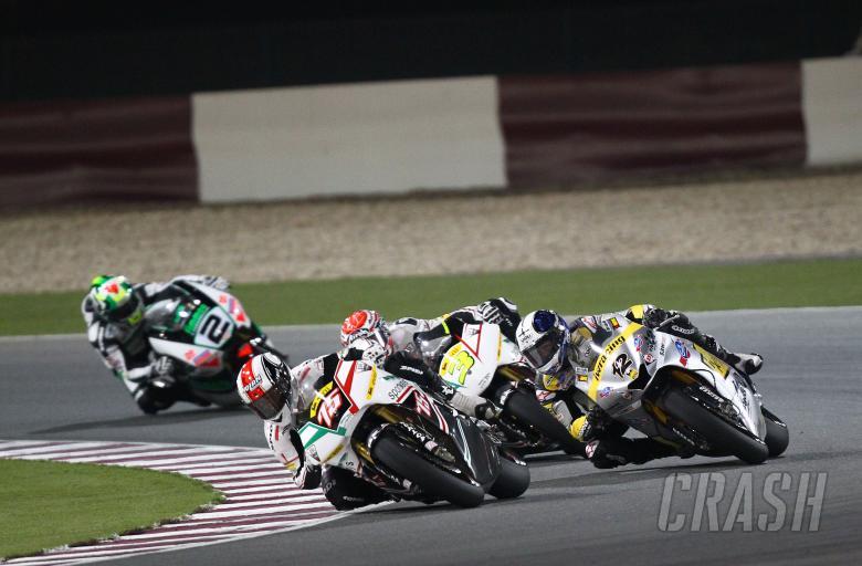 Pasini, Moto2 race, Qatar MotoGP 2010