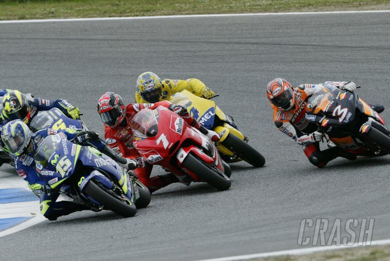 : Start, Portuguese MotoGP Race, 2005