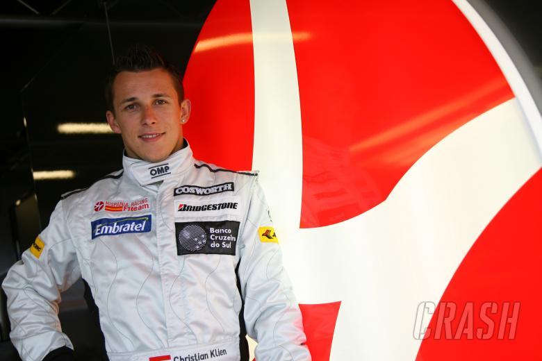 Christian Klien (AUT), test driver, Hispania Racing F1 Team